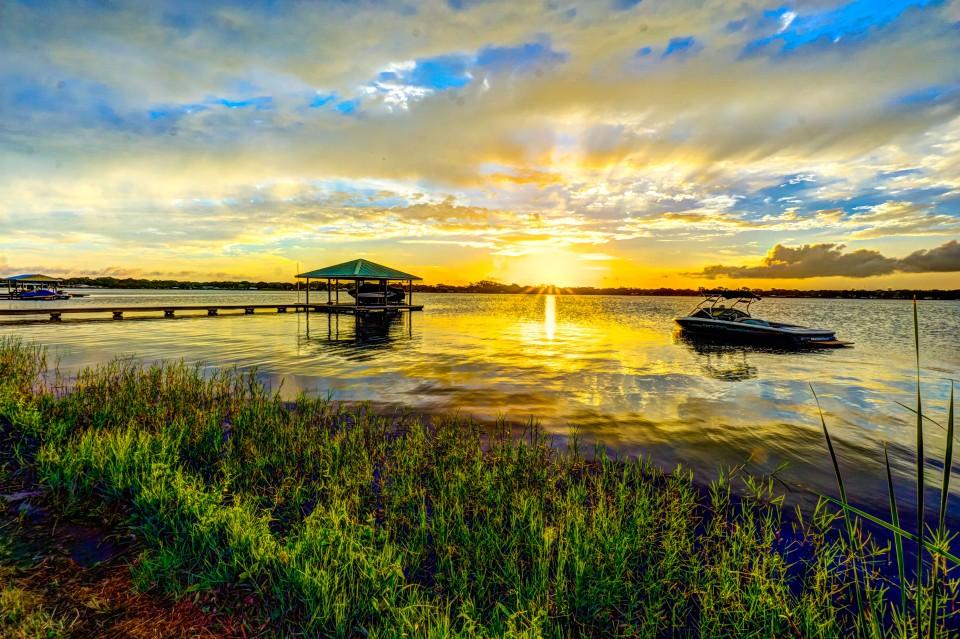 Morning on Lake Clay